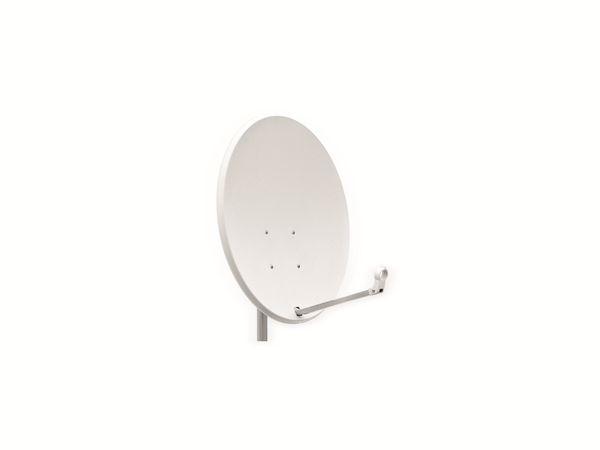 SAT-Antenne OPTICUM QA60, Stahl, lichtgrau, 60 cm