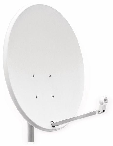 SAT-Antenne RED OPTICUM QA60, Stahl, lichtgrau, 60 cm