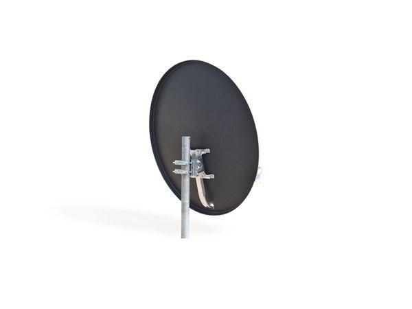 SAT-Antenne OPTICUM QA60, Stahl, anthrazit, 60 cm - Produktbild 2