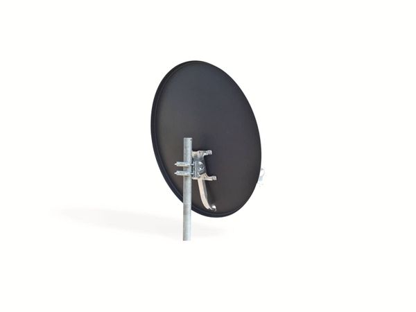 Set SAT-Antenne OPTICUM QA60 anthrazit, mit Single-LNB OPTICUM LSP-02G - Produktbild 2