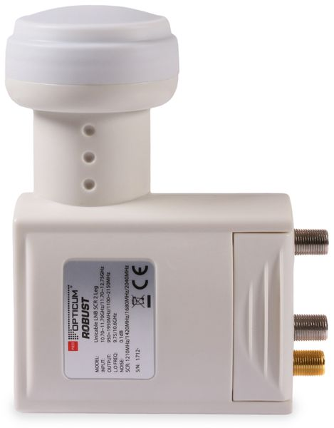 SCR-LNB RED OPTICUM Unicable 2 Legacy 2 - Produktbild 3