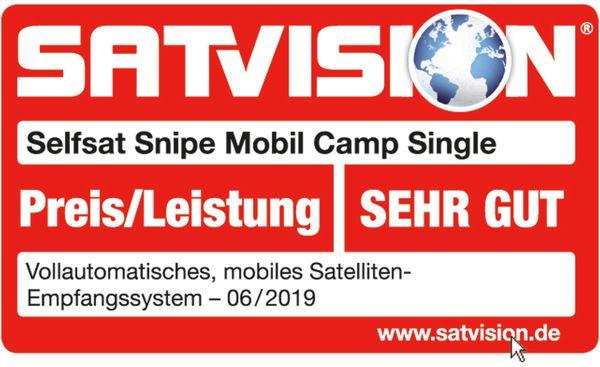 Campingantenne SELFSAT Snipe Mobil Camp, Single - Produktbild 7