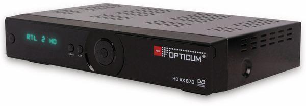DVB-S HDTV-Receiver RED OPTICUM AX 670