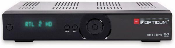 DVB-S HDTV-Receiver RED OPTICUM AX 670 - Produktbild 2