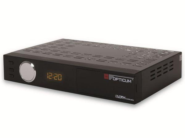 DVB-S/C/T2 HDTV-Receiver OPTICUM Sloth Combo Plus, PVR
