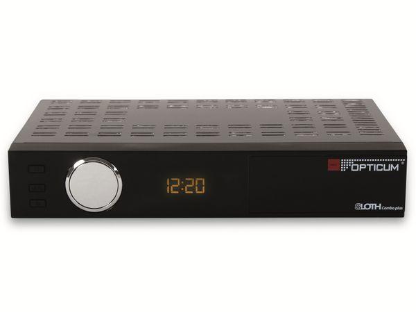 DVB-S/C/T2 HDTV-Receiver OPTICUM Sloth Combo Plus, PVR - Produktbild 2