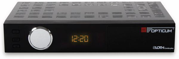 DVB-S/C/T2 HDTV-Receiver RED OPTICUM Sloth Combo Plus, PVR - Produktbild 2