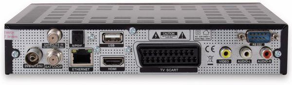 DVB-S/C/T2 HDTV-Receiver RED OPTICUM Sloth Combo Plus, PVR - Produktbild 3