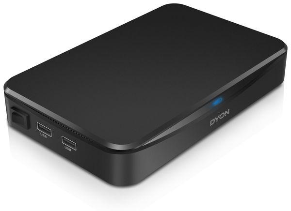 DVB-T2 HDTV-Receiver DYON Hunter, H.265 HEVC, CI+, B-Ware