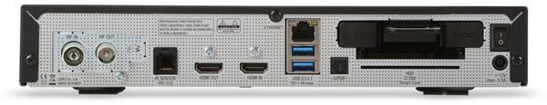 DVB-C HDTV Receiver VU+ Uno 4K SE, Linux, schwarz, B-Ware - Produktbild 3