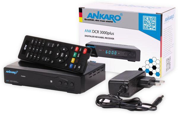 DVB-C HDTV-Receiver ANKARO DCR 3000plus - Produktbild 4