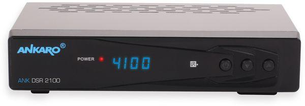 DVB-S HDTV-Receiver ANKARO DSR 2100/PVR