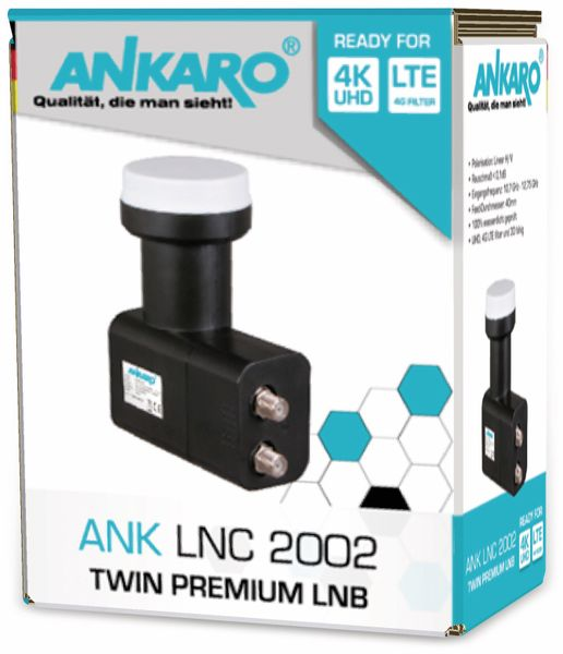 Twin-LNB ANKARO LNC 2002 - Produktbild 6