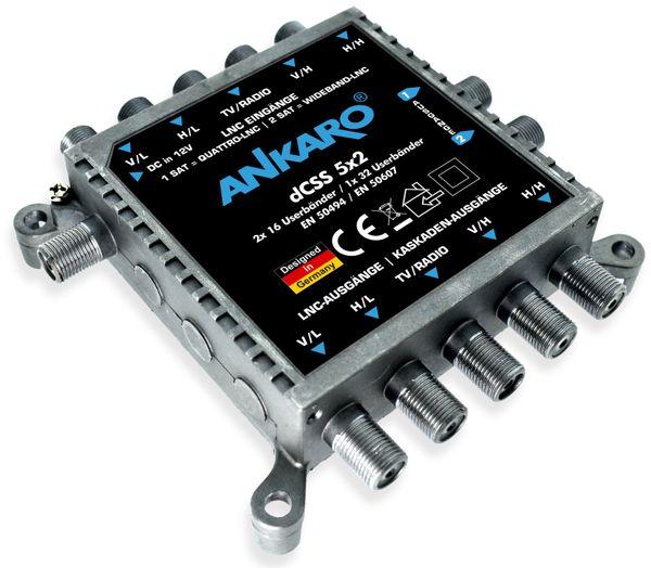 SAT-Multischalter ANKARO dCSS 5x2 - Produktbild 2