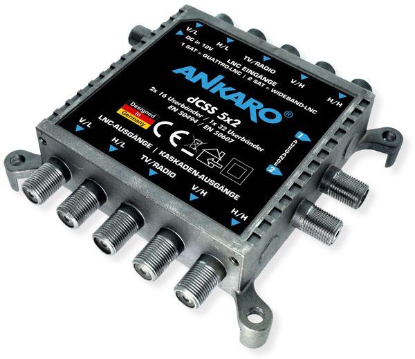 SAT-Multischalter ANKARO dCSS 5x2 - Produktbild 3