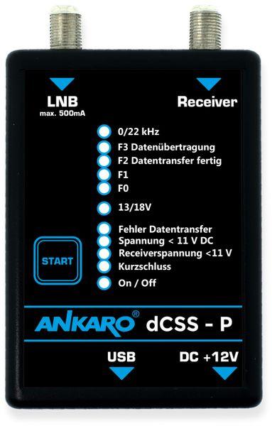 SAT-Programmiergerät ANKARO dCSS-P - Produktbild 2