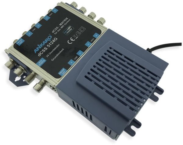 SAT-Multischalter ANKARO dCSS 5124G - Produktbild 3