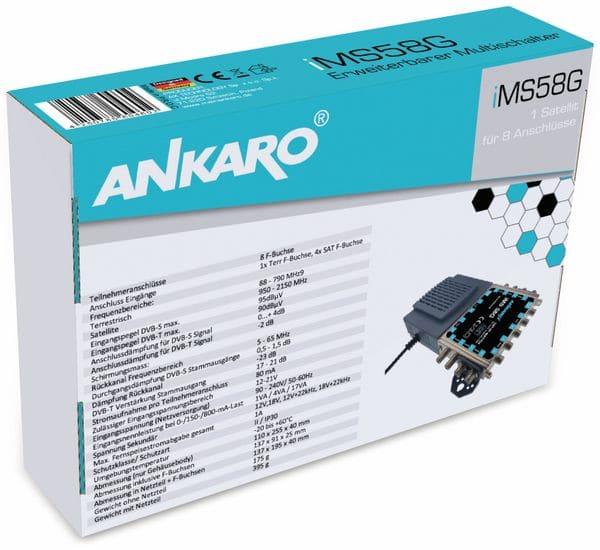 SAT-Multischalter ANKARO iMS 58G - Produktbild 7