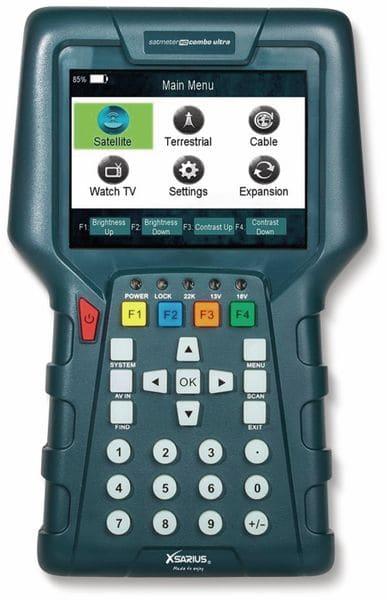 Sat-Messgerät XSARIUS HD Combo Ultra