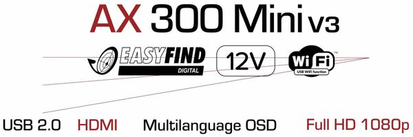 DVB-S2 HDTV Receiver RED OPTICUM AX 300 mini V3 - Produktbild 6
