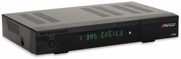 DVB-S2 HDTV-Receiver RED OPTICUM, 4K, AX ATOM