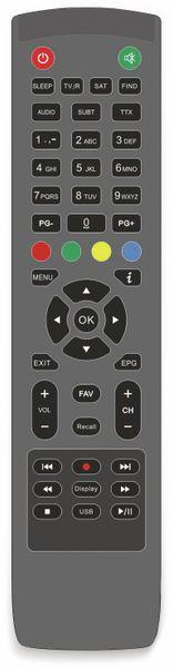 DVB-S2 HDTV-Receiver RED OPTICUM, 4K, AX ATOM - Produktbild 2