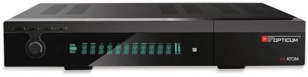 DVB-S2 HDTV-Receiver RED OPTICUM, 4K, AX ATOM - Produktbild 3