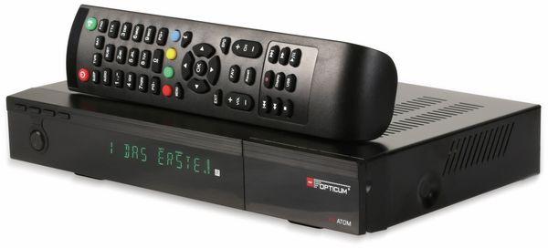 DVB-S2 HDTV-Receiver RED OPTICUM, 4K, AX ATOM - Produktbild 7