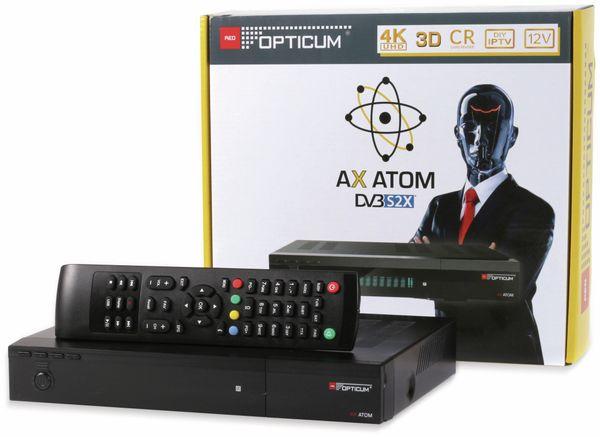 DVB-S2 HDTV-Receiver RED OPTICUM, 4K, AX ATOM - Produktbild 10