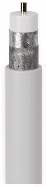 Koaxialkabel GOOBAY 49759, 50 m, weiß, 5 mm, CCS, 75 dB - Produktbild 2