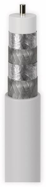 Koaxialkabel GOOBAY 49761, 20 m, weiß, 7,2 mm, CCS, 120 dB - Produktbild 2