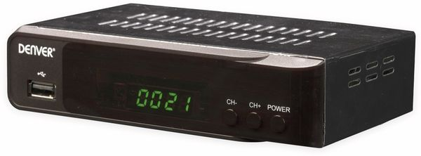 DVB-S2 HDTV Receiver DENVER DVBS-206HD