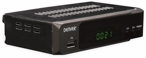 DVB-S2 HDTV Receiver DENVER DVBS-206HD - Produktbild 2