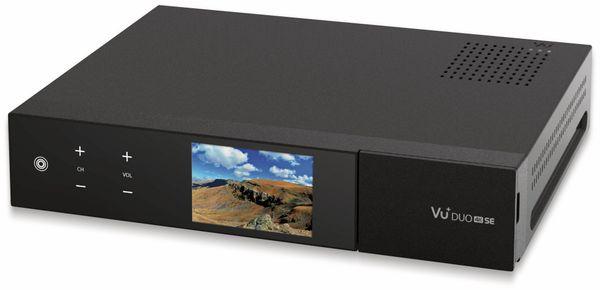 DVB-C Twin-Receiver VU+ Duo 4K SE, UHD, Linux