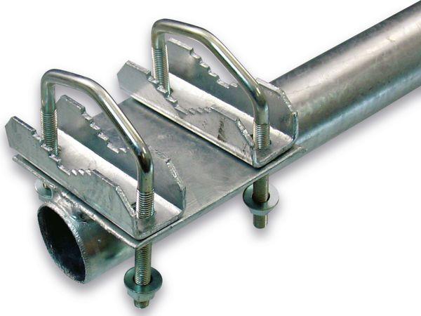 Mast für Geländer, 80 cm, Stahl - Produktbild 2