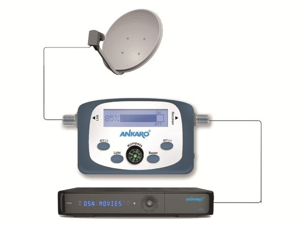 SAT-Finder ANKARO DSF100 - Produktbild 3