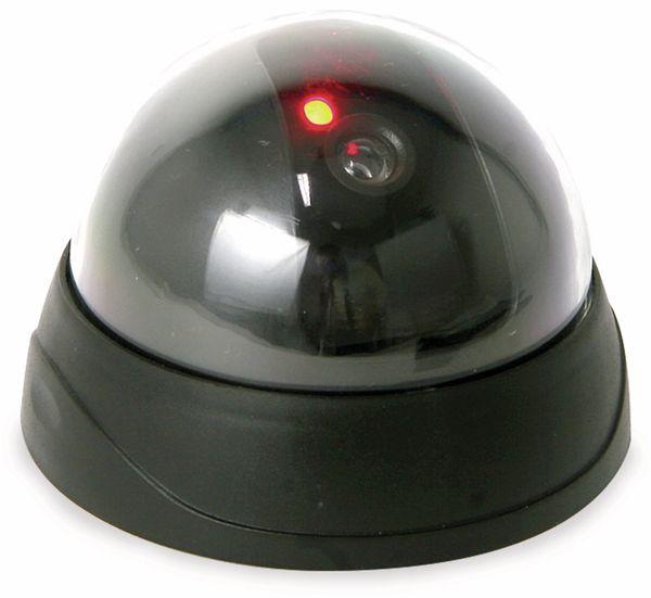 Domekamera-Dummy mit Blinklicht