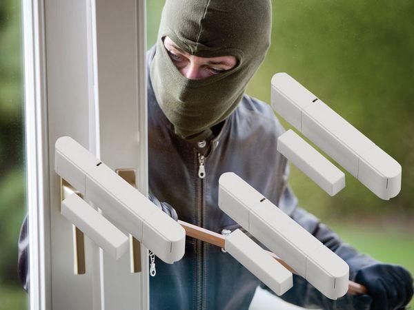 Tür-/Fensterkontakt für OLYMPIA Protect Funk-Alarmsystem - Produktbild 2