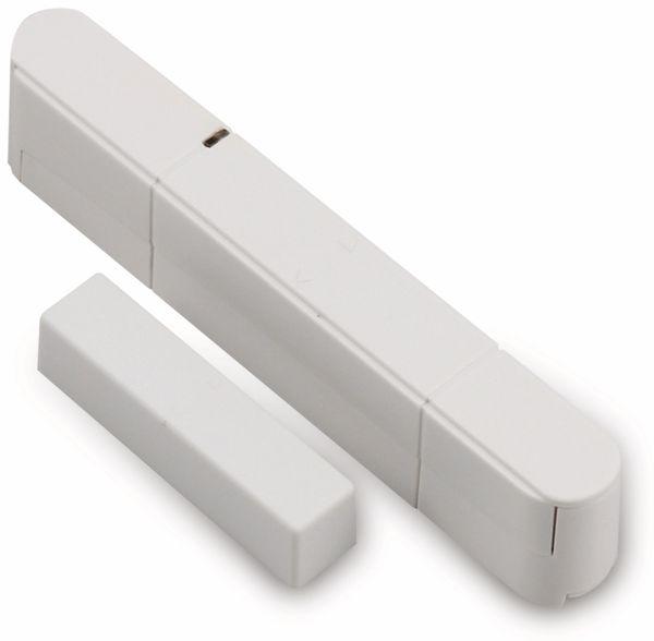 Tür-/Fensterkontakt für OLYMPIA Protect Funk-Alarmsystem, 3 Stück - Produktbild 1