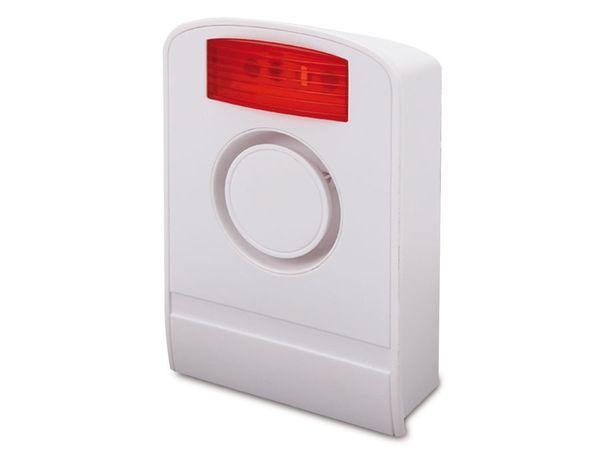Außensirene für OLYMPIA Protect Funk-Alarmsystem