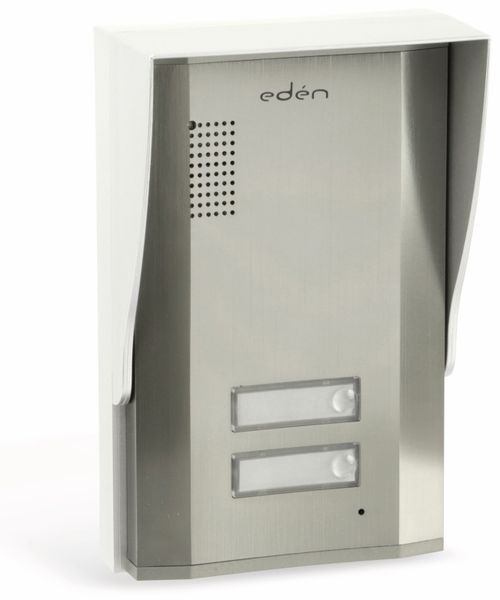 Türsprecheinheit EDEN D2111B, außen, 2-fach, gebürstet - Produktbild 1