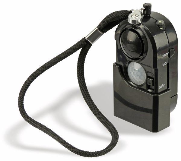 Taschenalarm mit PIR Sensor und Licht LogiLink schwarz - Produktbild 2