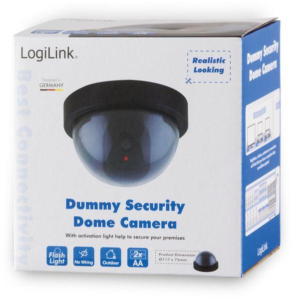 Domekamera-Dummy LogiLink SC0202 mit rot blinkender LED - Produktbild 3
