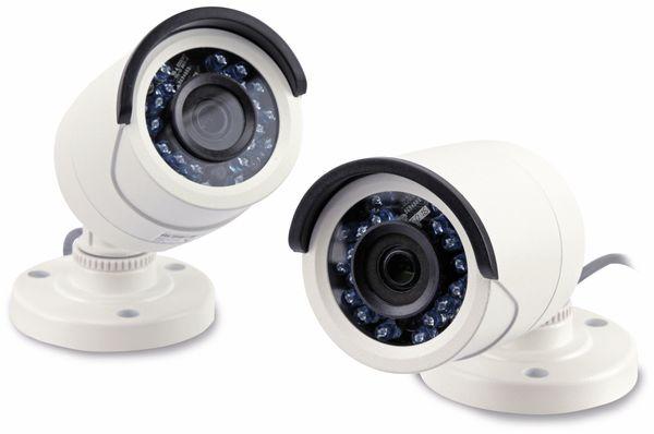 8-Kanal Full HD Standalone Rekorder SET mit 2x IR Tag/Nacht Außenkameras - Produktbild 2