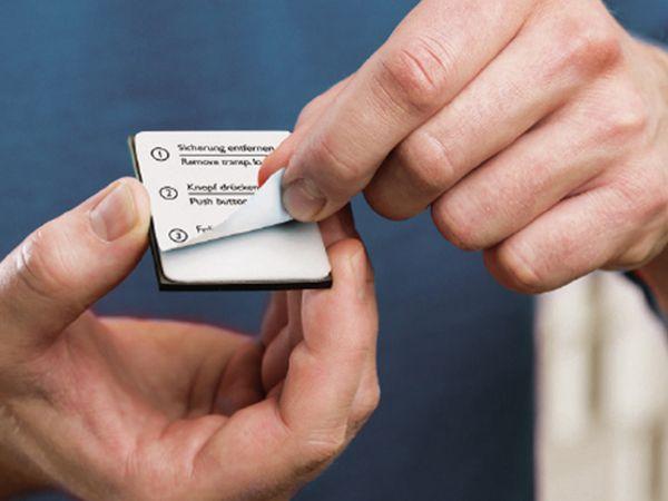 Rauch-/Hitzemelder PYREXX PX-1, weiß, Q-Label - Produktbild 2