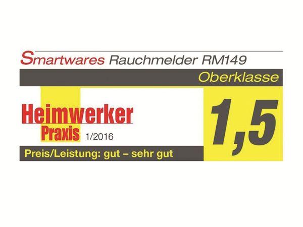 Rauchmelder SMARTWARES RM149, 4 Stück - Produktbild 2