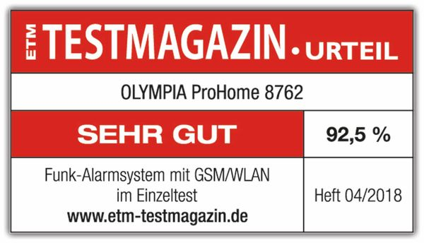 Alarmanlagen-Set OLYMPIA ProHome 8762 - Produktbild 3