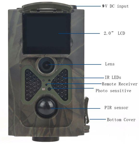 Wildkamera PREMIUMBLUE WC-1601, 5MP, FullHD - Produktbild 7