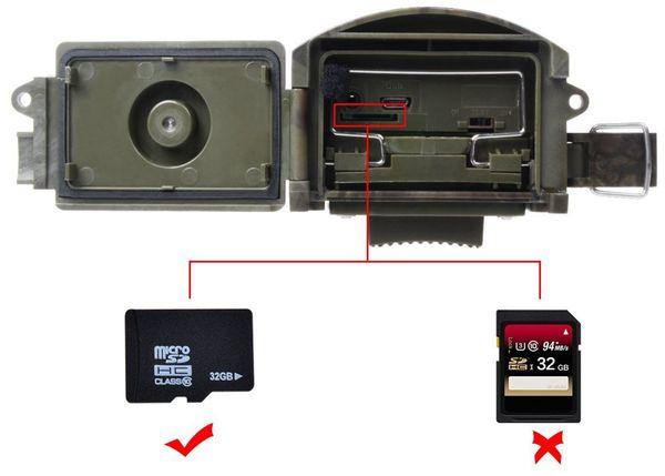 Wildkamera PREMIUMBLUE WC-1601, 5MP, FullHD - Produktbild 8