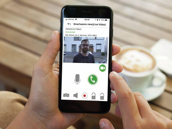 WiFi Türsprechanlage SMARTWARES DIC-23216, 1-Familienhaus - Produktbild 2